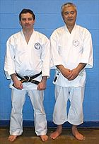 Sensei Nick Quilliam and Sensei M. Shiomitsu